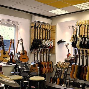 Музыкальные магазины Увы