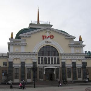 Железнодорожные вокзалы Увы